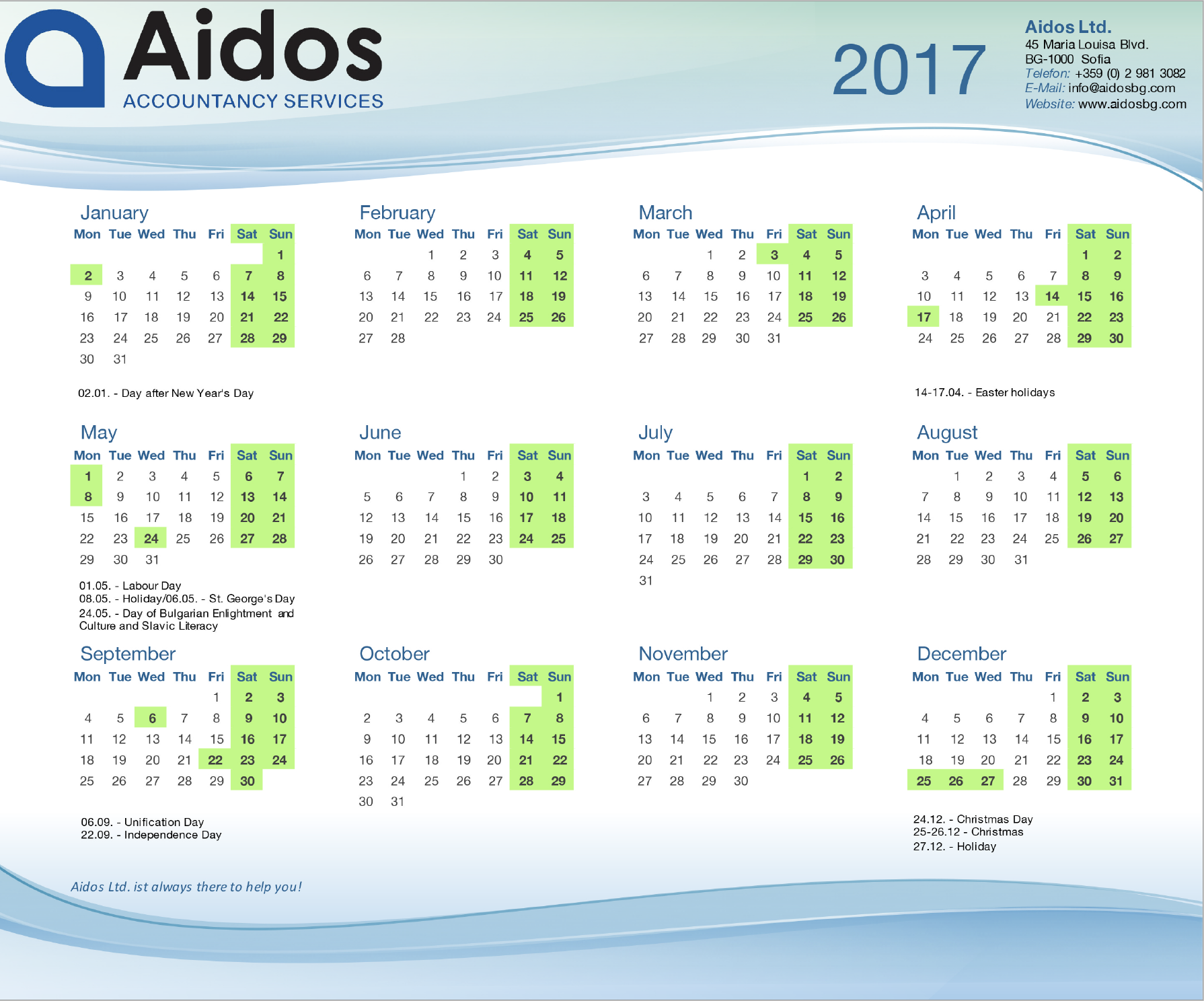 Aidos Accountants Bulgaria